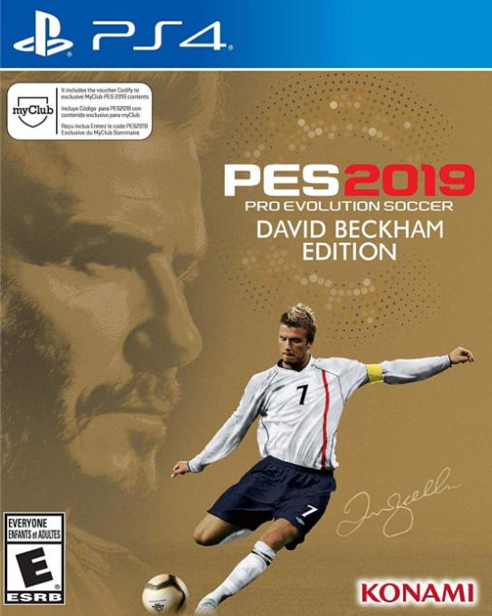PS4 Pro Evolution Soccer 2019 David Beckham Edition Nové