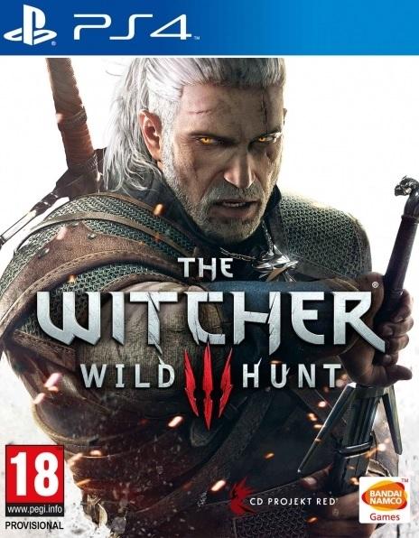 PS4 Zaklínač 3 Divoký Hon CZ - jen hra