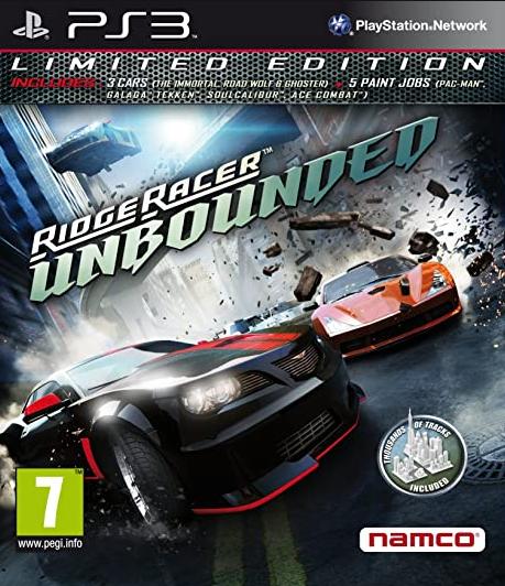 PS3 Ridge Racer Unbounded Limited Edition Nové