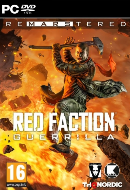 PC Red Faction Guerrilla Remarstered CZ Nové