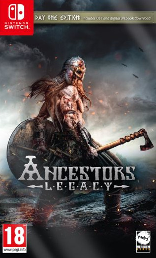 Switch Ancestors Legacy Day One Edition CZ Nové