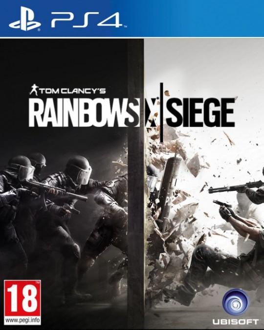 PS4 Tom Clancys Rainbow Siege CZ - jen hra