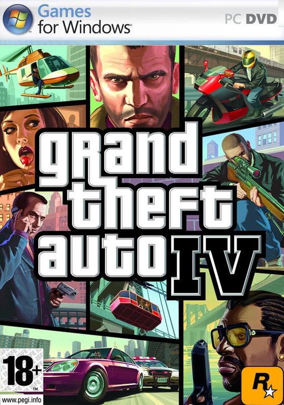 PC Grand Theft Auto IV (GTA 4) Nové