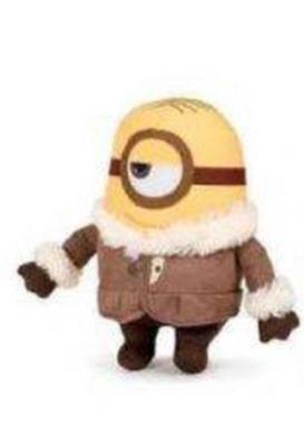 Merch Plyšová hračka Mimoňi Stuart 18cm Nové