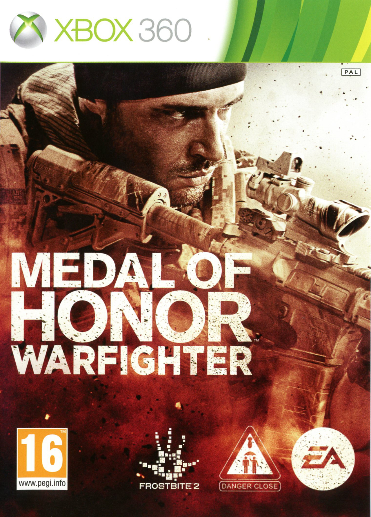 X360 Medal of Honor Warfighter PL Nové