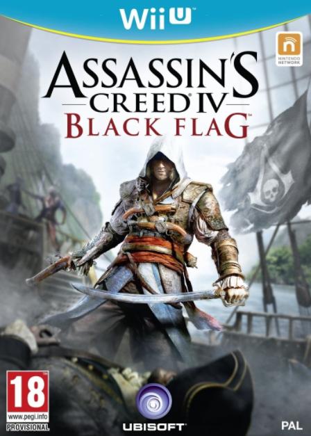 WiiU Assassins Creed 4 Black Flag Nové