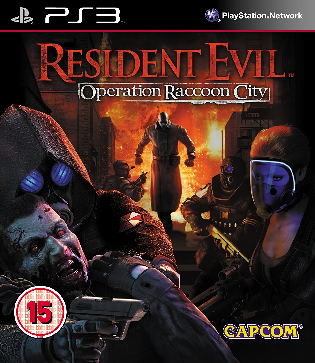 PS3 Resident Evil Operation Raccoon City - jen hra
