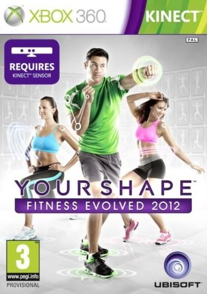 X360 Your Shape Evolved Fitness 2012 Nové
