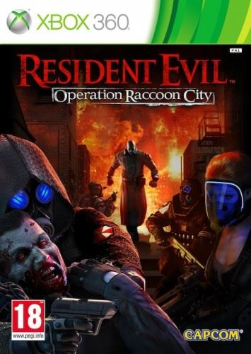 X360 Resident Evil Operation Raccoon City