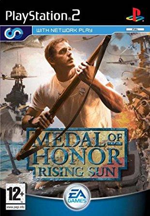 PS2 Medal of Honor Rising Sun-