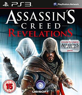 PS3 Assassins Creed Revelations + Assassins Creed 1-