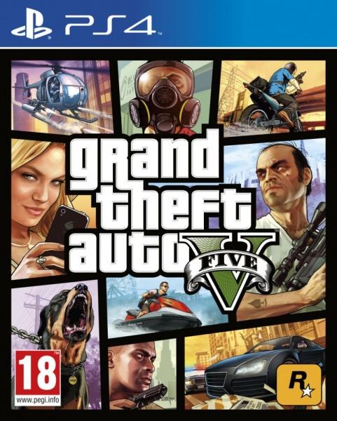PS4 Grand Theft Auto V (GTA 5)-