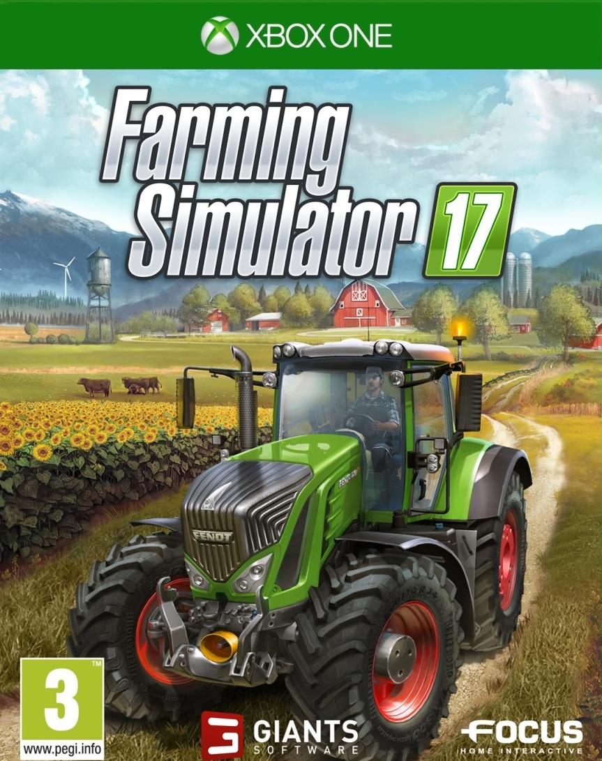 XONE Farming Simulator 17-