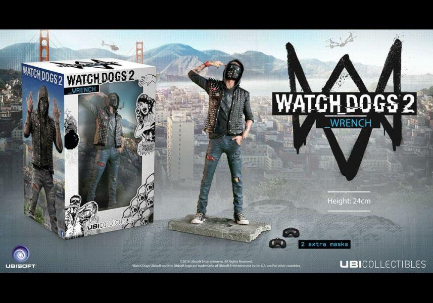 Watch Dogs 2 Wrench Nové