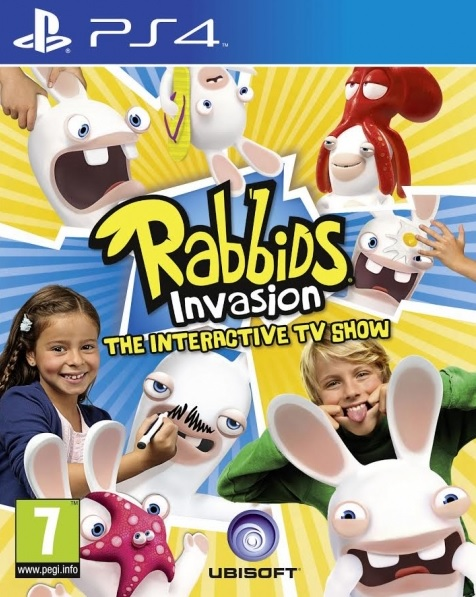 PS4 Rabbids Invasion The Interactive TV Show-