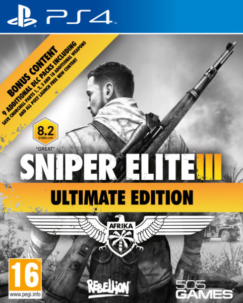 PS4 Sniper Elite 3 Ultimate Edition-