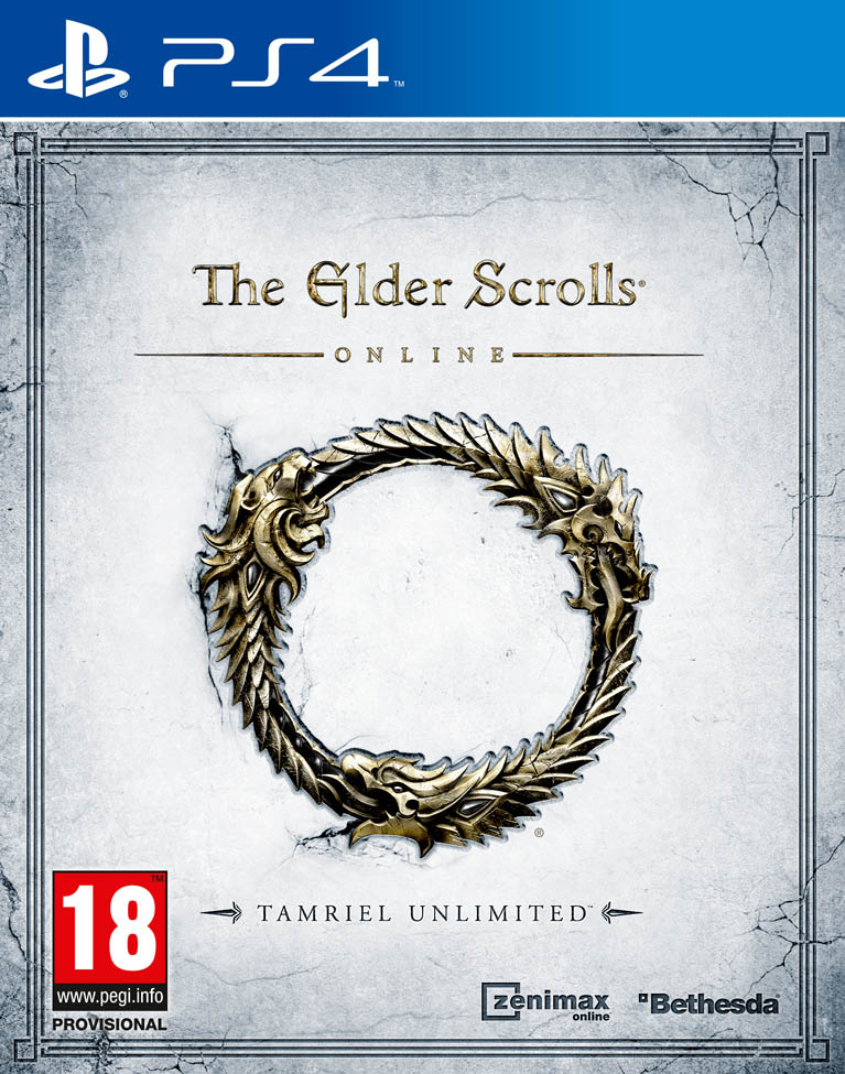 PS4 The Elder Scrolls Online Tamriel Unlimited-