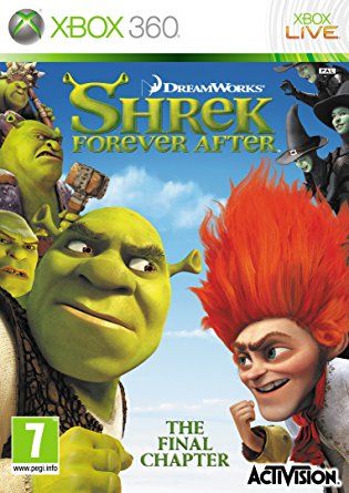X360 Shrek Forever After
