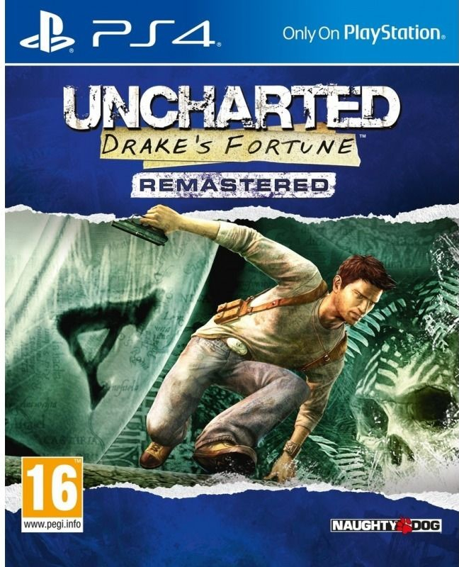 PS4 Uncharted Drakes Fortune Remastered CZ