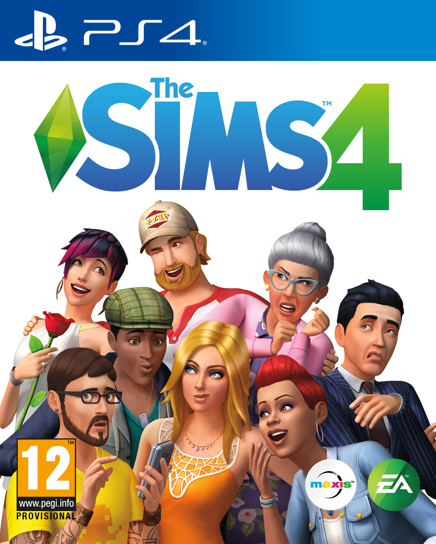 PS4 The Sims 4 - jen hra