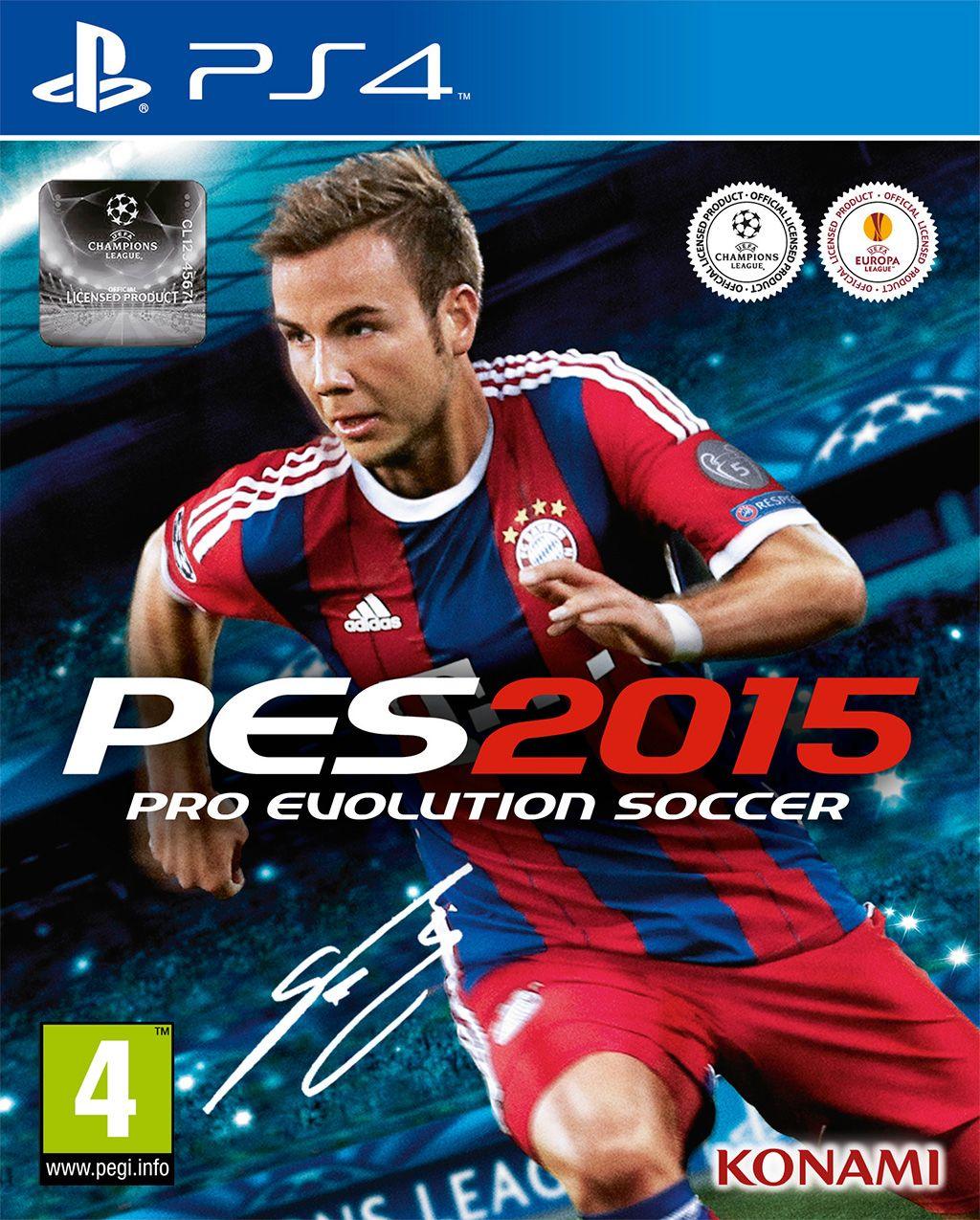 PS4 Pro Evolution Soccer 2015