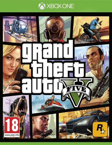 XONE Grand Theft Auto V (GTA 5) - jen hra