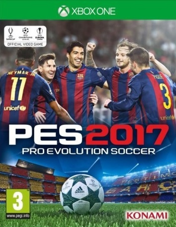 XONE Pro Evolution Soccer 2017