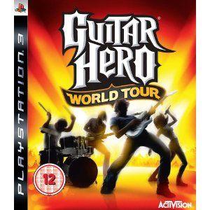 PS3 Guitar Hero World Tour-