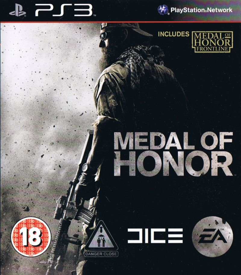 PS3 Medal of Honor - MOH Frontlines-