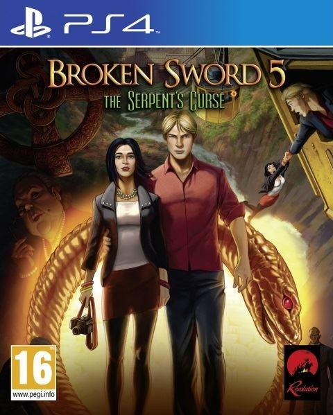 PS4 Broken Sword 5 The Serpents Curse - jen hra