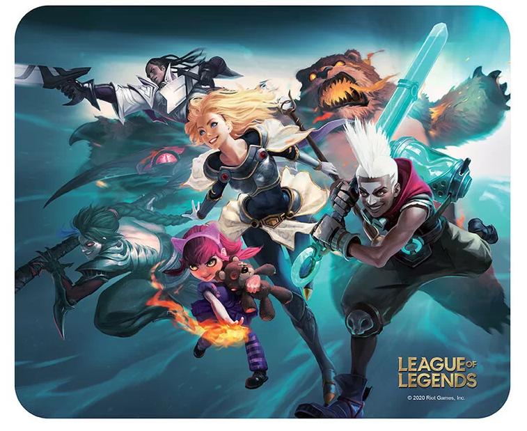 Merch Podložka pod myš League Of Legends Team Nové