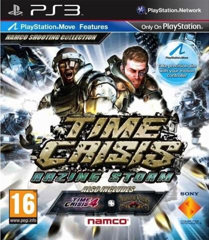 PS3 Time Crisis Razing Storm - jen hra