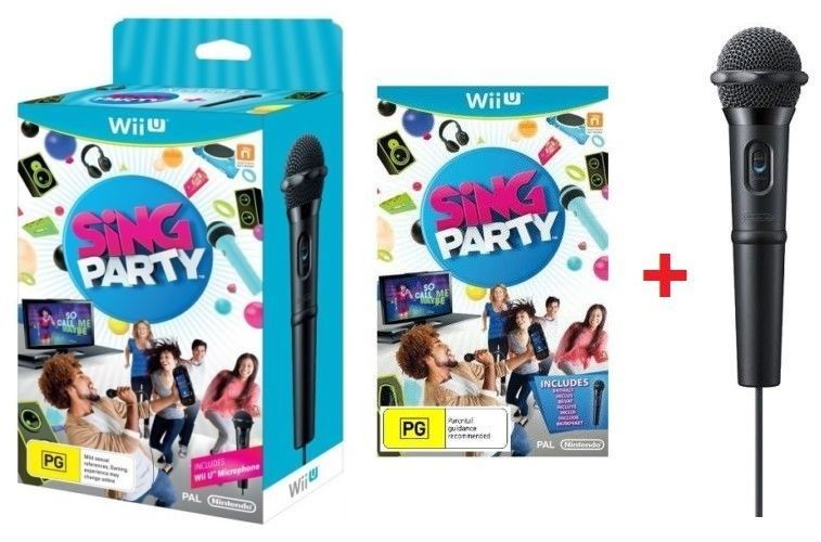 WiiU Sing Party - mikrofon-