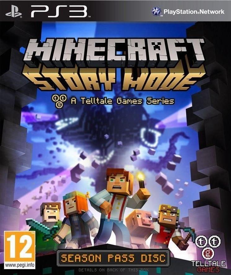 PS3 Minecraft Story Mode-
