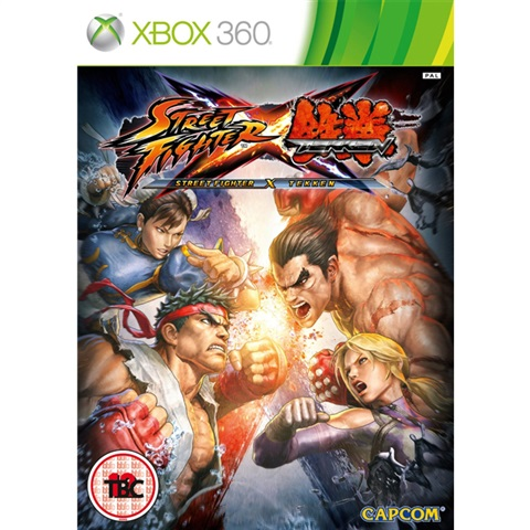 X360 Street Fighter X Tekken