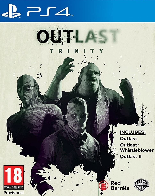 PS4 Outlast Trinity - jen hra