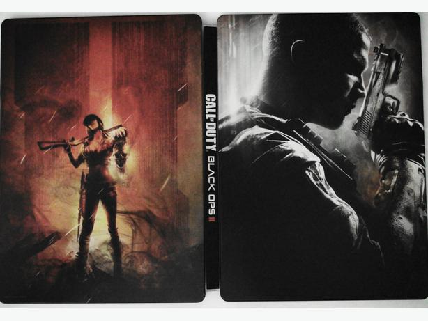 PS3 Call Of Duty Black Ops 2 Steelbook