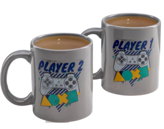 Merch Keramický Hrnek Playstation Player 1 And Player 2 Nové