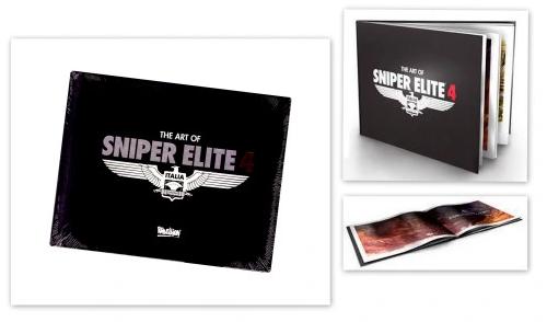 Merch Artbook Sniper Elite 4 Nové