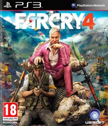 PS3 Far Cry 4 CZ