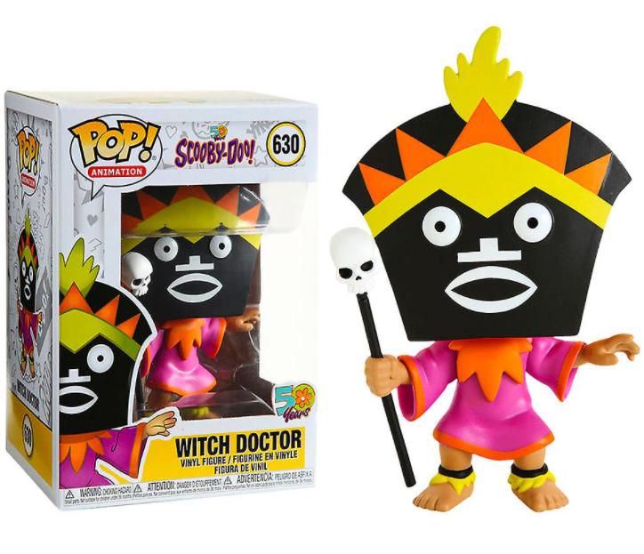 Merch Funko Pop! 630 Scooby Doo Witch Doctor Nové