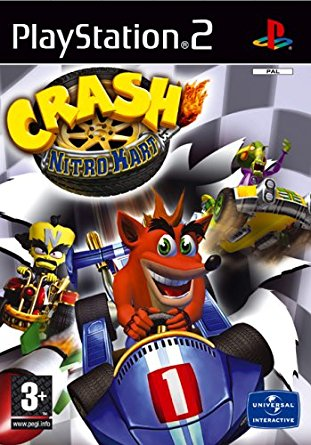 PS2 Crash Nitro Kart