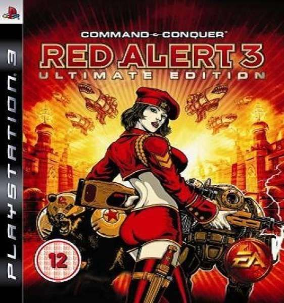 PS3 Command Conquer Red Alert 3 Ultimate Edition