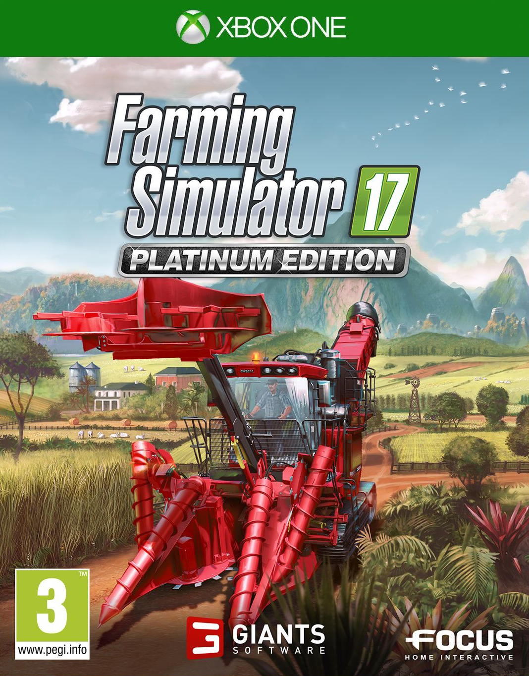 XONE Farming Simulator 17 Platinum Edition-