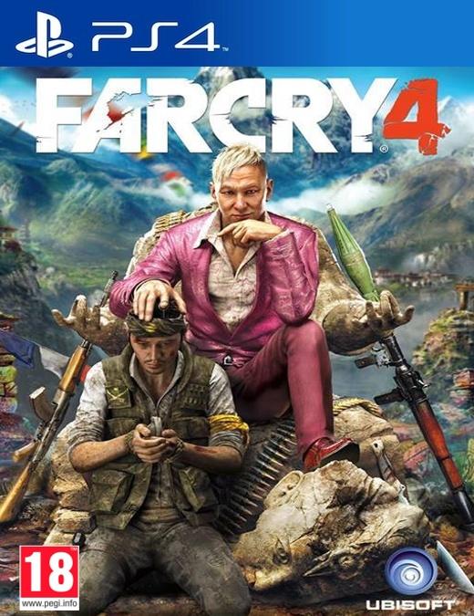 PS4 Far Cry 4 CZ