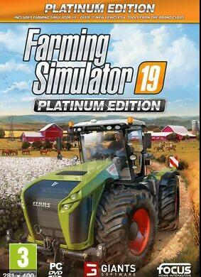 PC Farming Simulator 19 Platinum Edition Nové