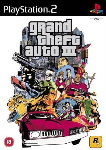 PS2 Grand Theft Auto 3-