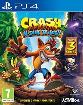 PS4 Crash Bandicoot N Sane Trilogy Nové