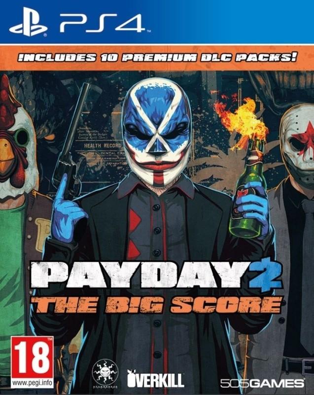 PS4 Payday 2 The Big Score - jen hra
