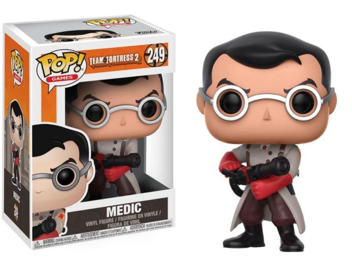 Merch Funko Pop! 249 Team Fortress 2 Medic Nové